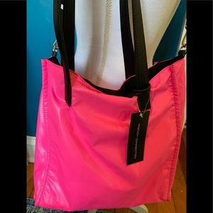 French Connection FCUK neon pink crossbody